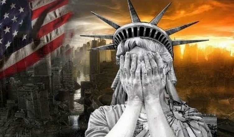 Image result for image of America in hell